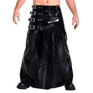 Mister B Rubber Long Buckle Skirt