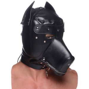Master Series Muzzled BDSM Hood