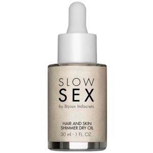 Slow Sex by Bijoux Hair and Skin Kimalleöljy 30 ml