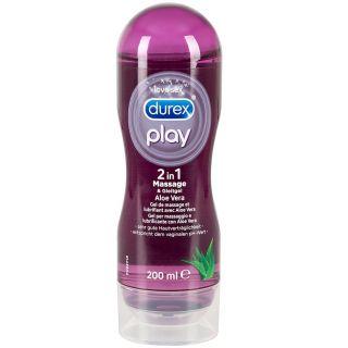 Durex Play 2-In-1 Hierontageeli ja Liukuvoide 200 ml