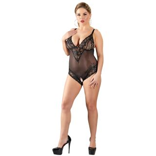 Cottelli Plus Size Haaraton Pitsinen Body