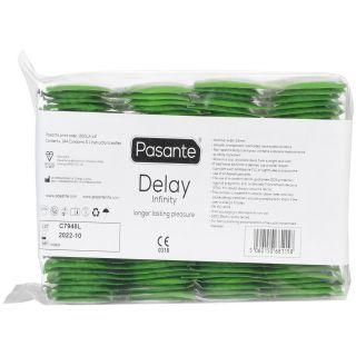 Pasante Delay Infinity Kondomit 144 kpl