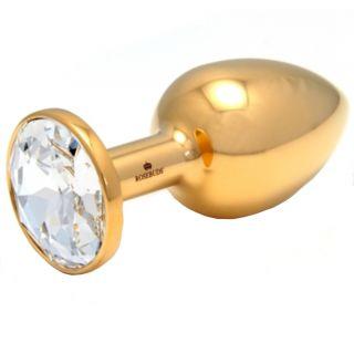 Rosebuds Gold Swarovski Cristal Keskikokoinen Anustappi