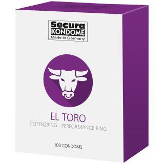 Secura El Toro Kondomit 100 kpl