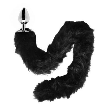 Furry Fantasy Black Panther Tail Anustappi Hännällä