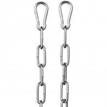 Rimba Metalliketju Karbiinihaoilla 100 cm kuva tuotepakkauksesta 1