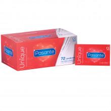 Pasante Unique Lateksittomat Kondomit 72 kpl
