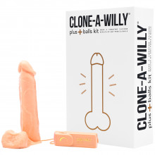 Clone-a-Willy Plus Balls kuva tuotepakkauksesta 1