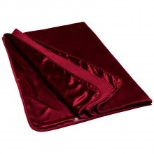 Liberator Fascinator Throw Merlot Luksuslakana