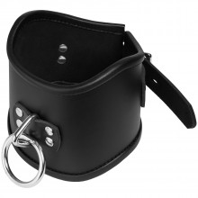 Strict Leather Locking Posture Collar Kaulapanta