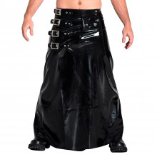 Mister B Rubber Buckle Skirt Lang
