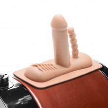 LoveBotz Tupladildo-lisäosa Saddle Sex Machineen