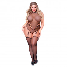 Seven til Midnight Plus Size Haaraton Catsuit