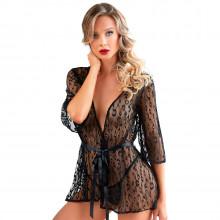 Allure Leopard Kimonosetti tuote mallin yllä 1