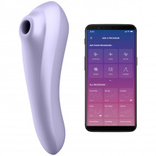 Satisfyer Dual Pleasure Värisevä Paineaaltokiihotin