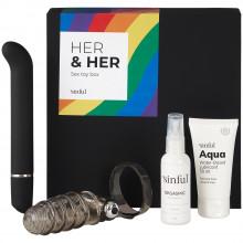 Sinful Her & Her Seksilelupakkaus tuotekuva 1