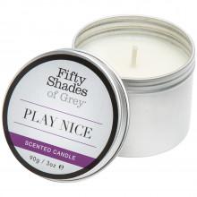 Fifty Shades Of Grey Play Nice Vaniljan Tuoksuinen Kynttilä tuotekuva 1