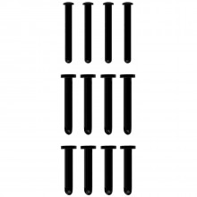 Mancage Musta Vaihtotappisetti 12 kpl Tuotekuva 1