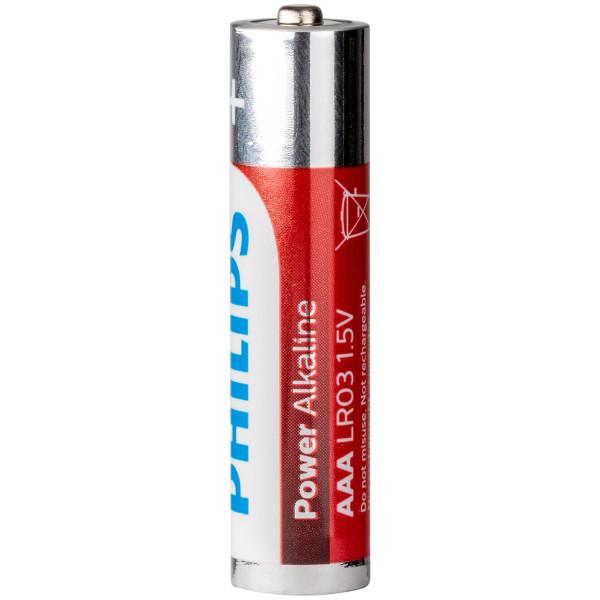 Philips LR03 AAA Alkaliparistot 4 kpl  100
