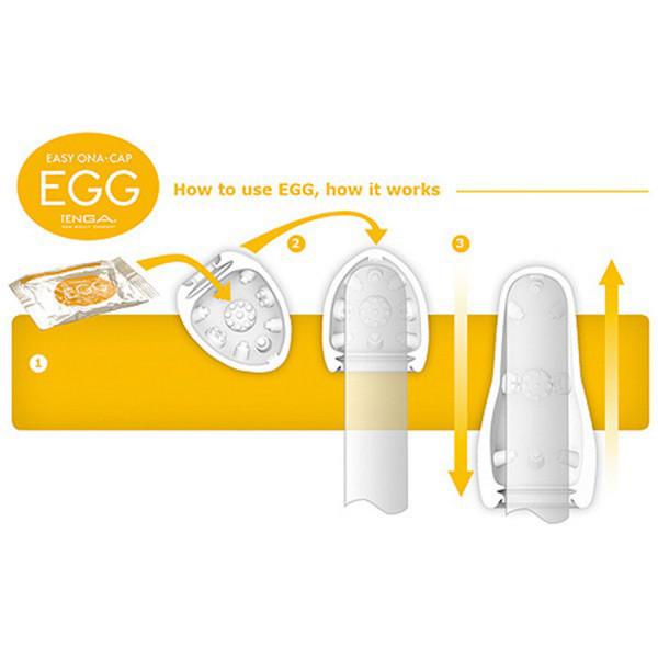 TENGA Eggs Masturbaattorit 6 kpl  3