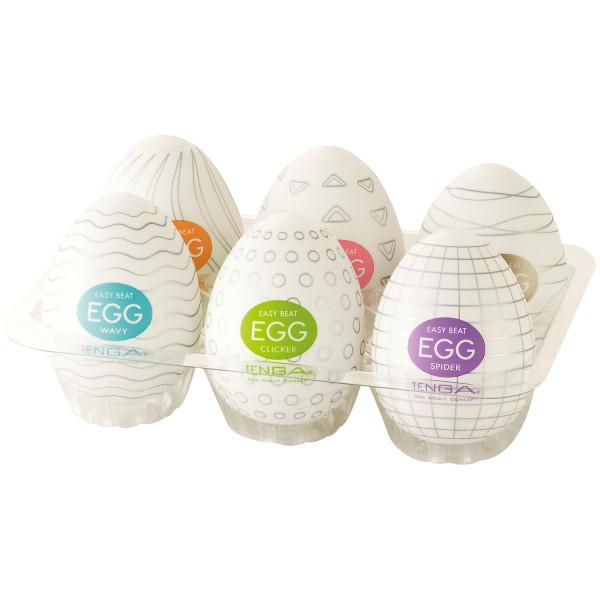 TENGA Eggs Masturbaattorit 6 kpl tuotekuva 1