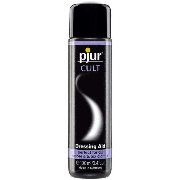 Pjur Cult Latex Dressing Aid ja Hoitoaine 100 ml  1