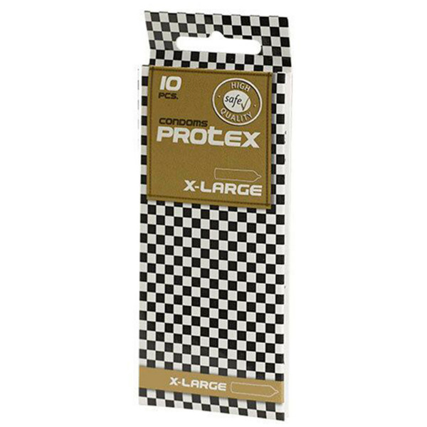 Protex X-Large Kondomit 10 kpl  1