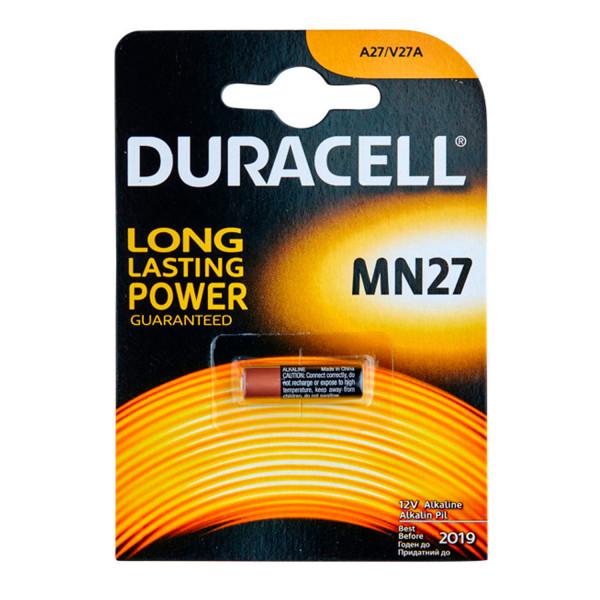 Duracell A27 12V Paristo 1 kpl  1