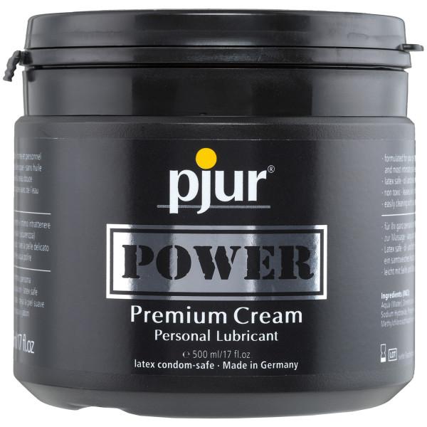 Pjur Power Creme Liukuvoide 500 ml  1