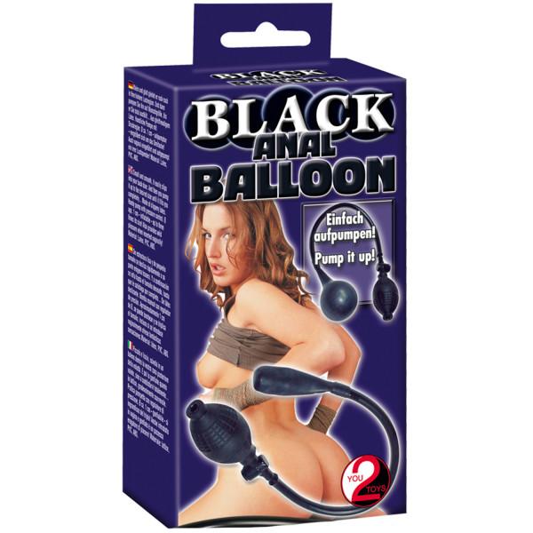 Anal Balloon Musta Pumpattava Anustappi  3