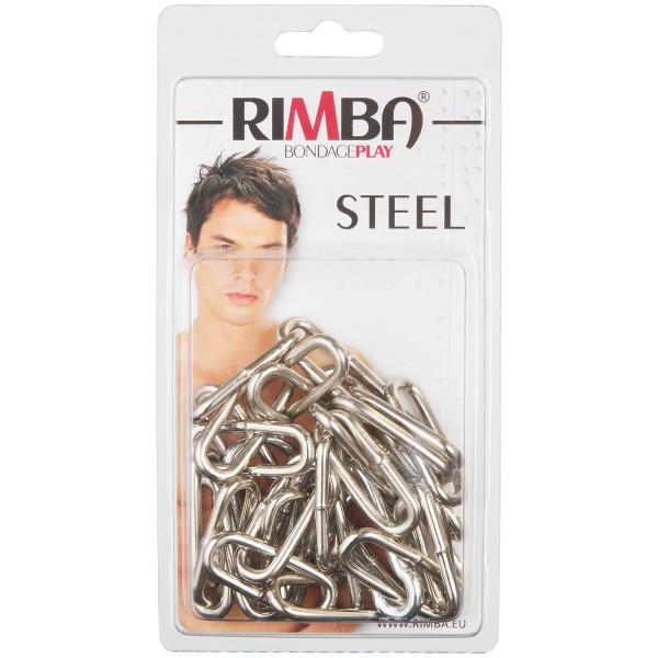 Rimba Metalliketju Karbiinihaoilla 100 cm kuva tuotepakkauksesta 90