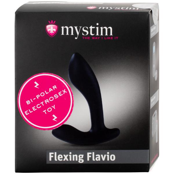 Mystim Flexing Flavio Silikoninen E-stim Anustappi  100