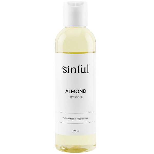 Sinful Manteli Hierontaöljy 200 ml  1