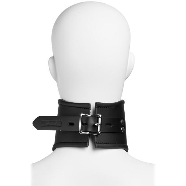 Strict Leather Locking Posture Collar Kaulapanta tuotekuva 4