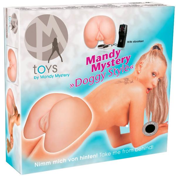 Mandy Mystery Doggy Style Masturbaattori  5