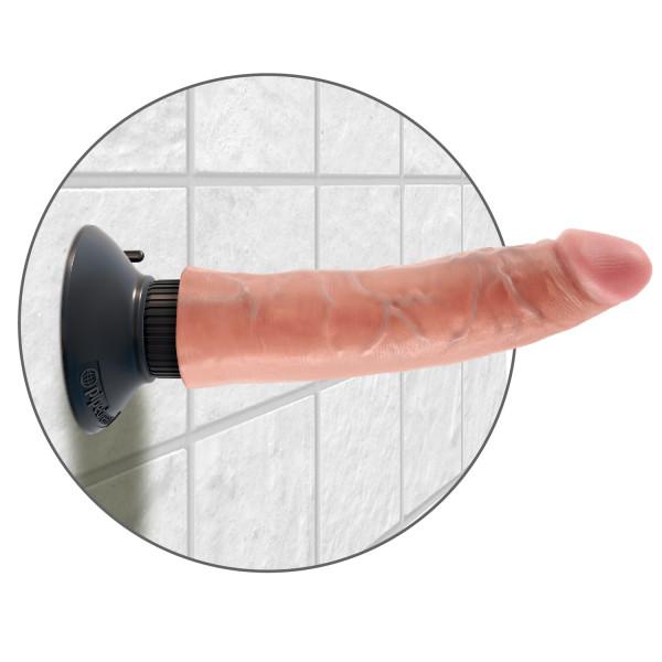 King Cock Vibrerende Dildo 18 cm