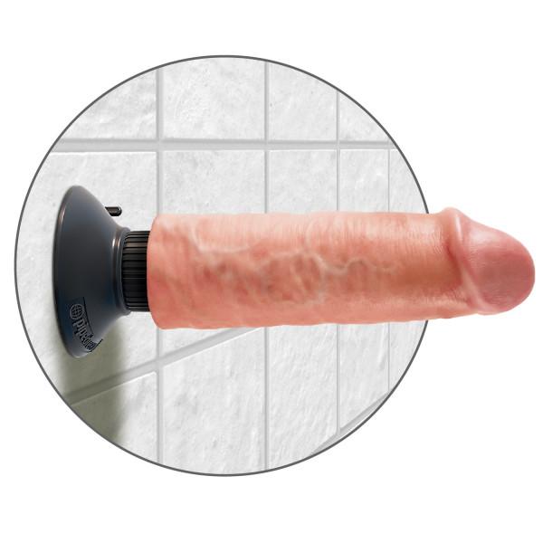 King Cock Vibrerende Dildo 15 cm