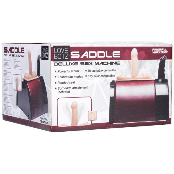 LoveBotz Saddle Deluxe Sex Machine  10