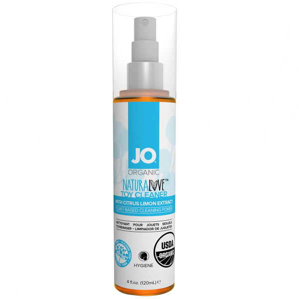System JO Organic Luonnonmukainen Seksilelun Puhdistussuihke 120 ml  1