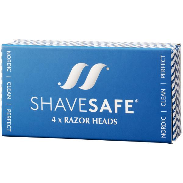 ShaveSafe Razor Super Blade 4 kpl  100