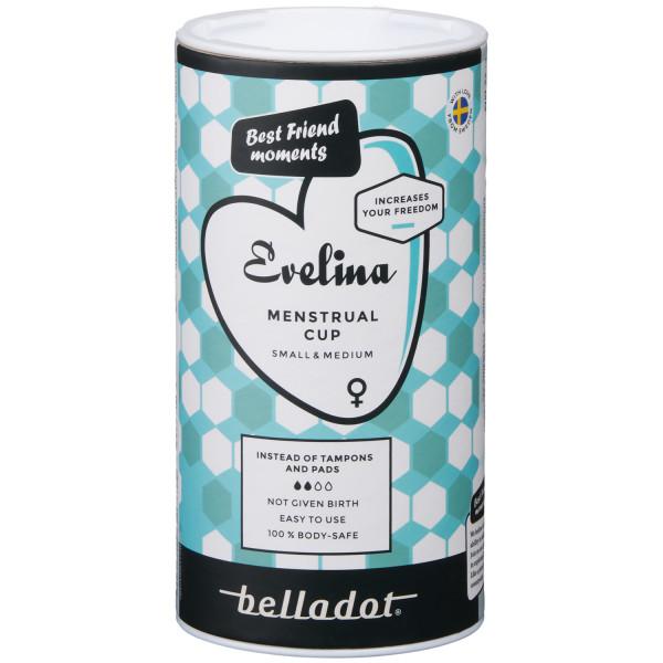 Belladot Evelina Kuukuppi kuva tuotepakkauksesta 90