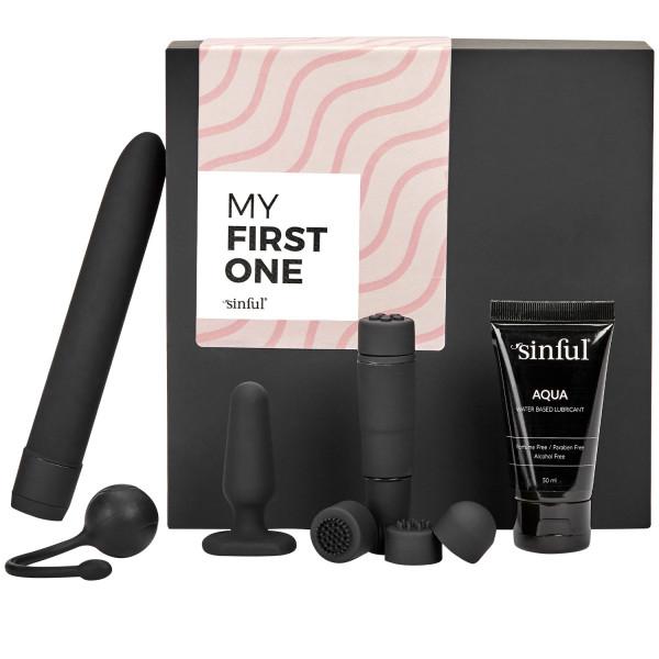 Sinful My First One Aloittelijan Seksilelupakkaus ja A-Z Opas  1