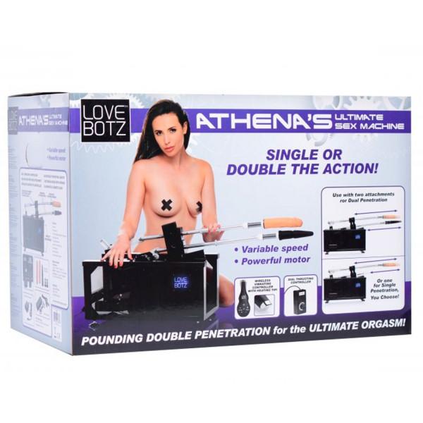 LoveBotz Athena's Double Penetration Seksikone