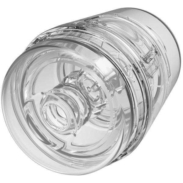 Main Squeeze Pop-Off Optix Clear Masturbaattori  1