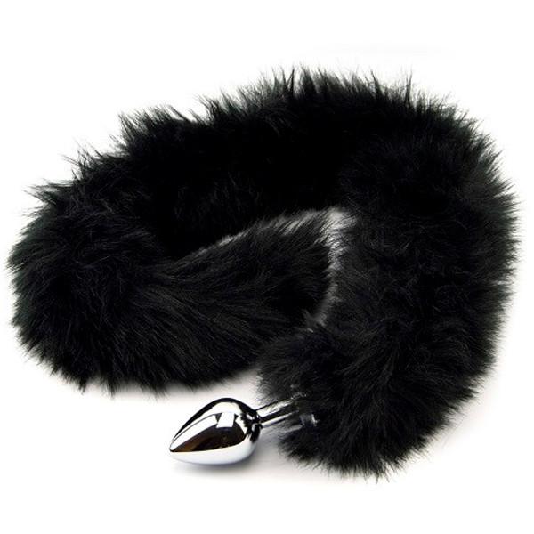 Furry Fantasy Black Panther Tail Anustappi Hännällä  2