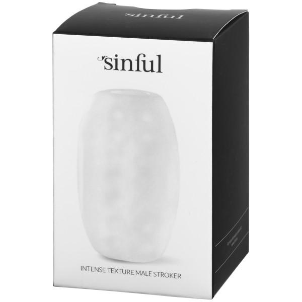 Sinful Intense Texture Male Stroker kuva tuotepakkauksesta 91