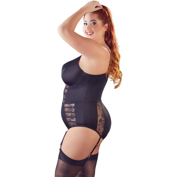 Cottelli Plus Size Satiininen Body  2