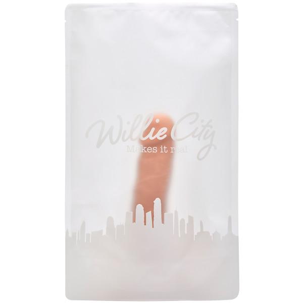 Willie City Luxe Super Aidonkaltainen Silikonidildo 20 cm  6
