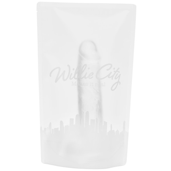 Willie City Classic Aidonkaltainen Kirkas Dildo 24,5 cm  5