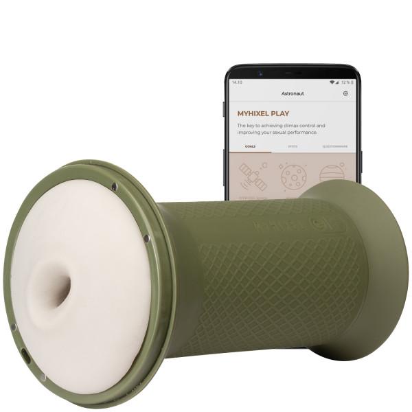 MYHIXEL TR Sovelluksella Ohjattava Treenausmasturbaattori kuva tuotepakkauksesta 1